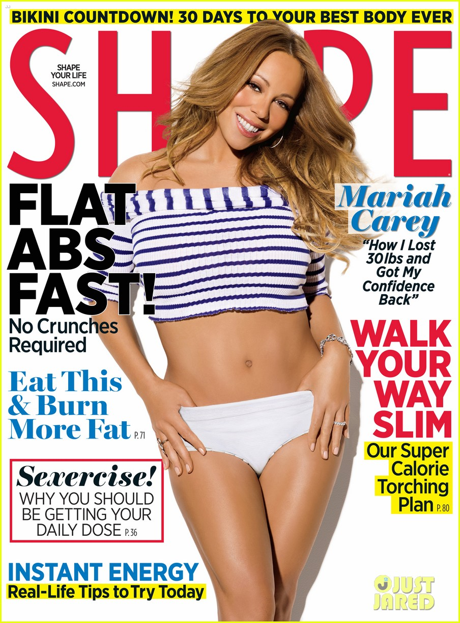 mariah carey shape may