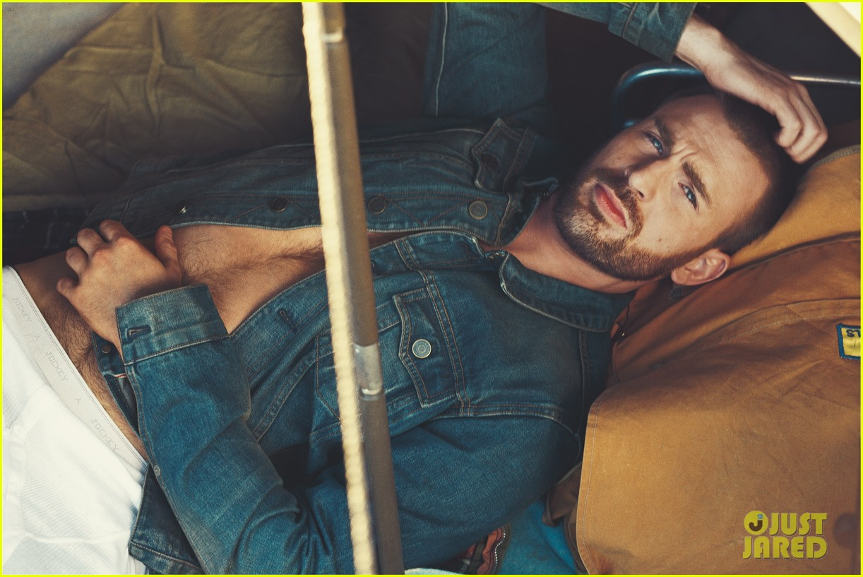 from Sergio chris evans photoshoot naked