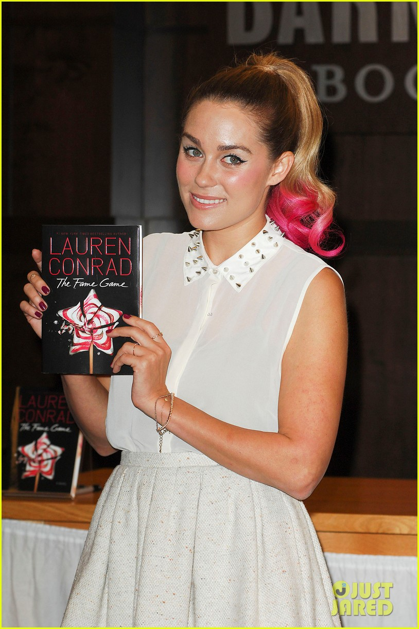 lauren conrad hot pink ponytail 042653649