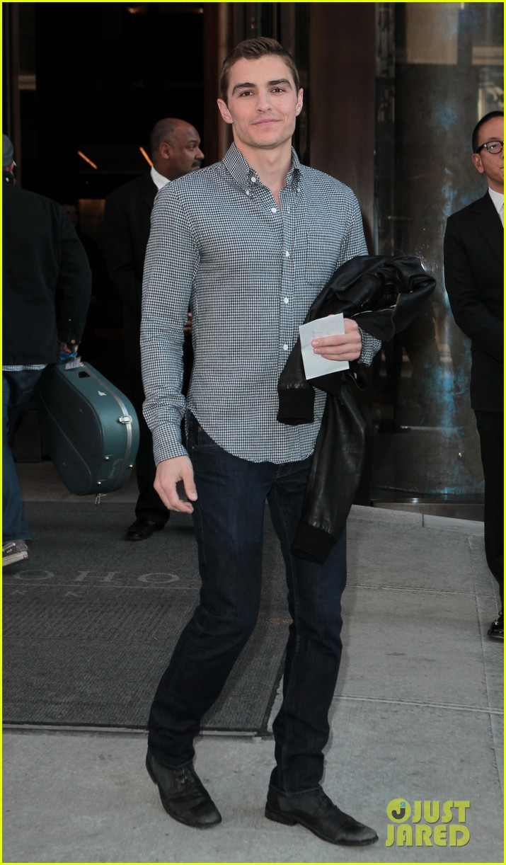 dave franco leaving hotel 052644900