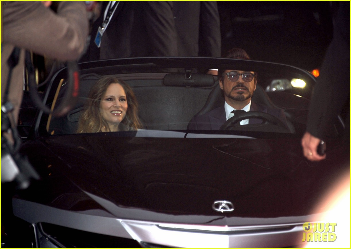 robert downey jr avengers premiere with wife susan 182647853