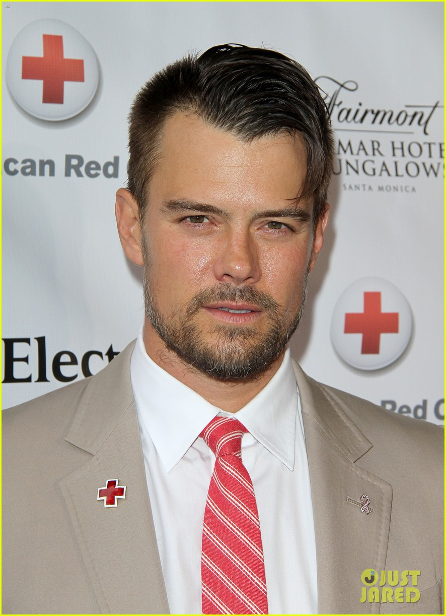 josh duhamel christa b allen red tie affair gala 022652188