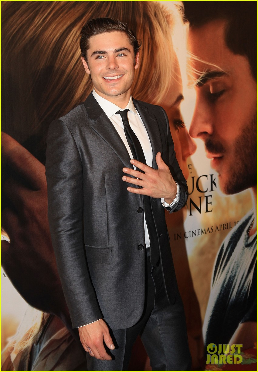 zac efron lucky one melbourne premiere with taylor schilling 02