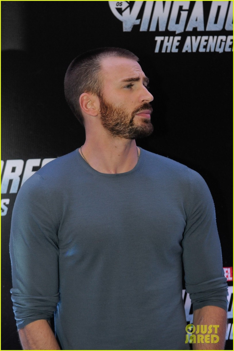 Chris Evans The Avengers Rock In Rio Photo 2647333