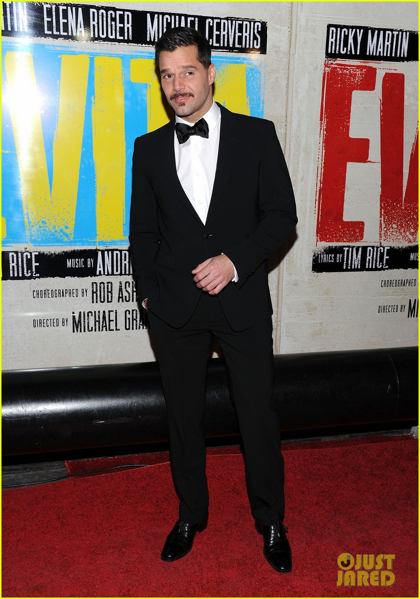 ricky martin evita broadway opening night 102645804