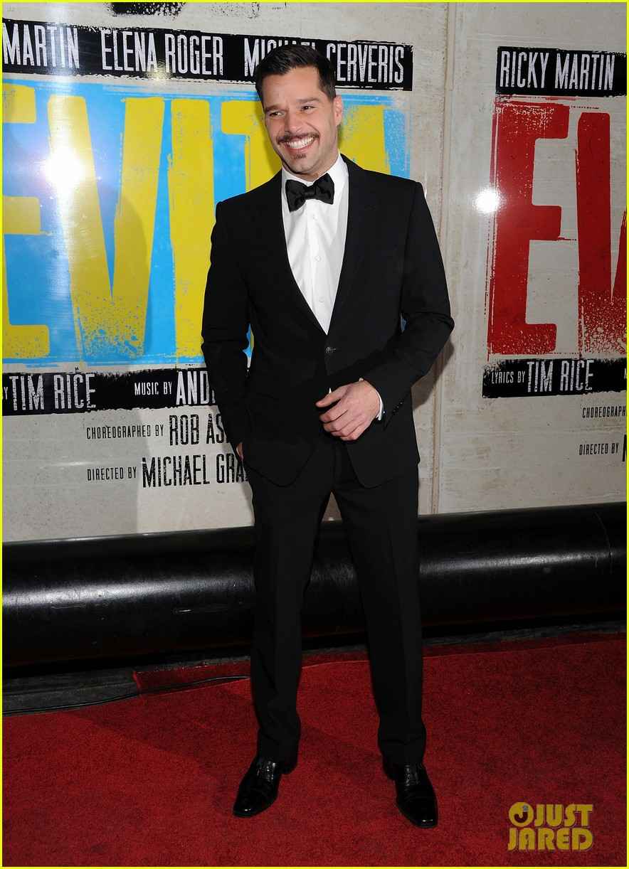 ricky martin evita broadway opening night 132645807