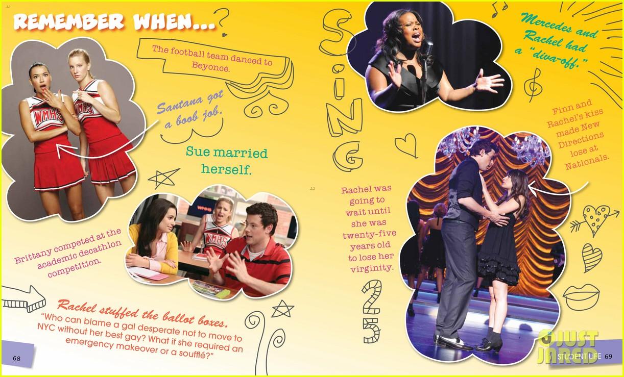 glee mckinley high yearbook exclusive inside look 022647458