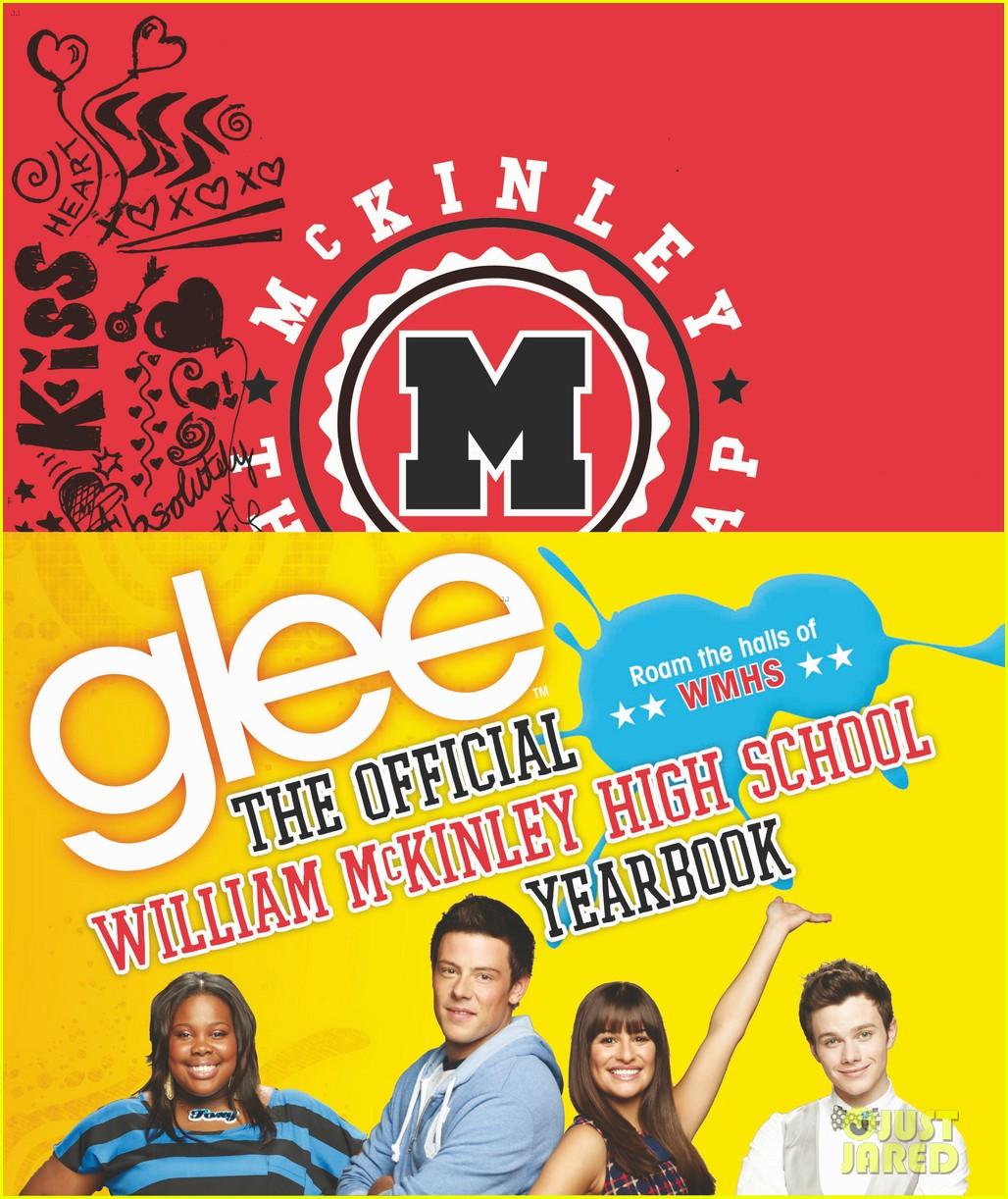 glee mckinley high yearbook exclusive inside look 042647460