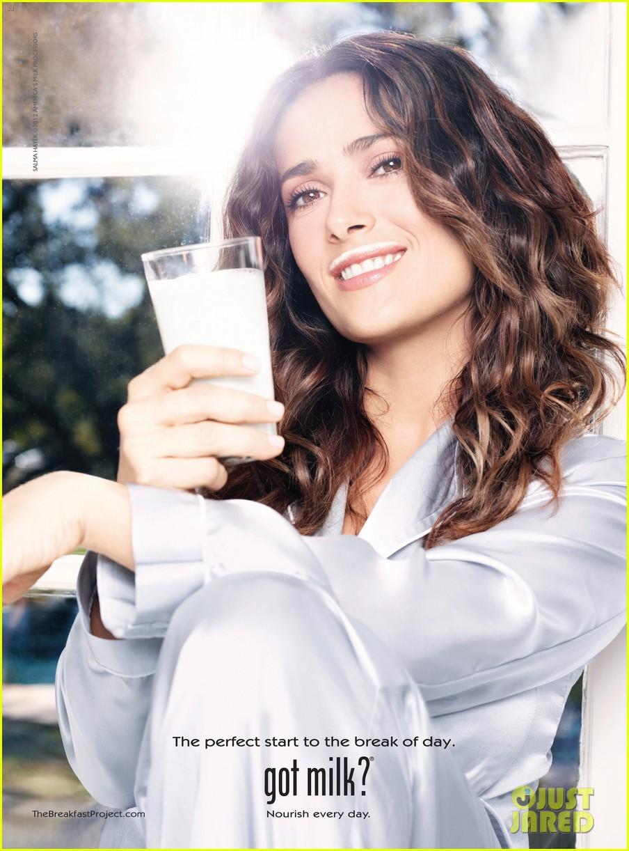 salma hayek got milk ad 012653951