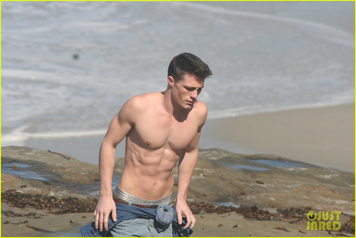 colton haynes shirtless 07