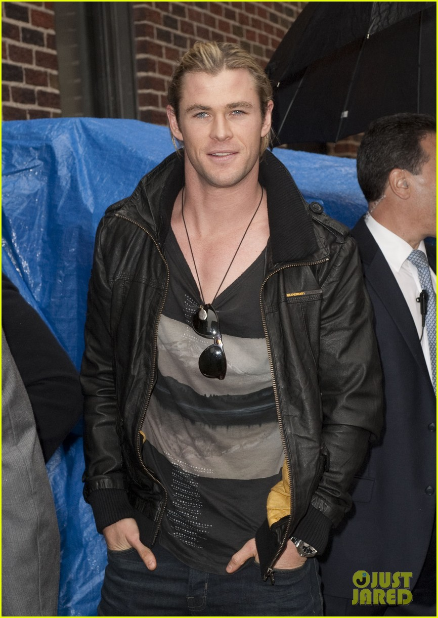 chris hemsworth david letterman 04