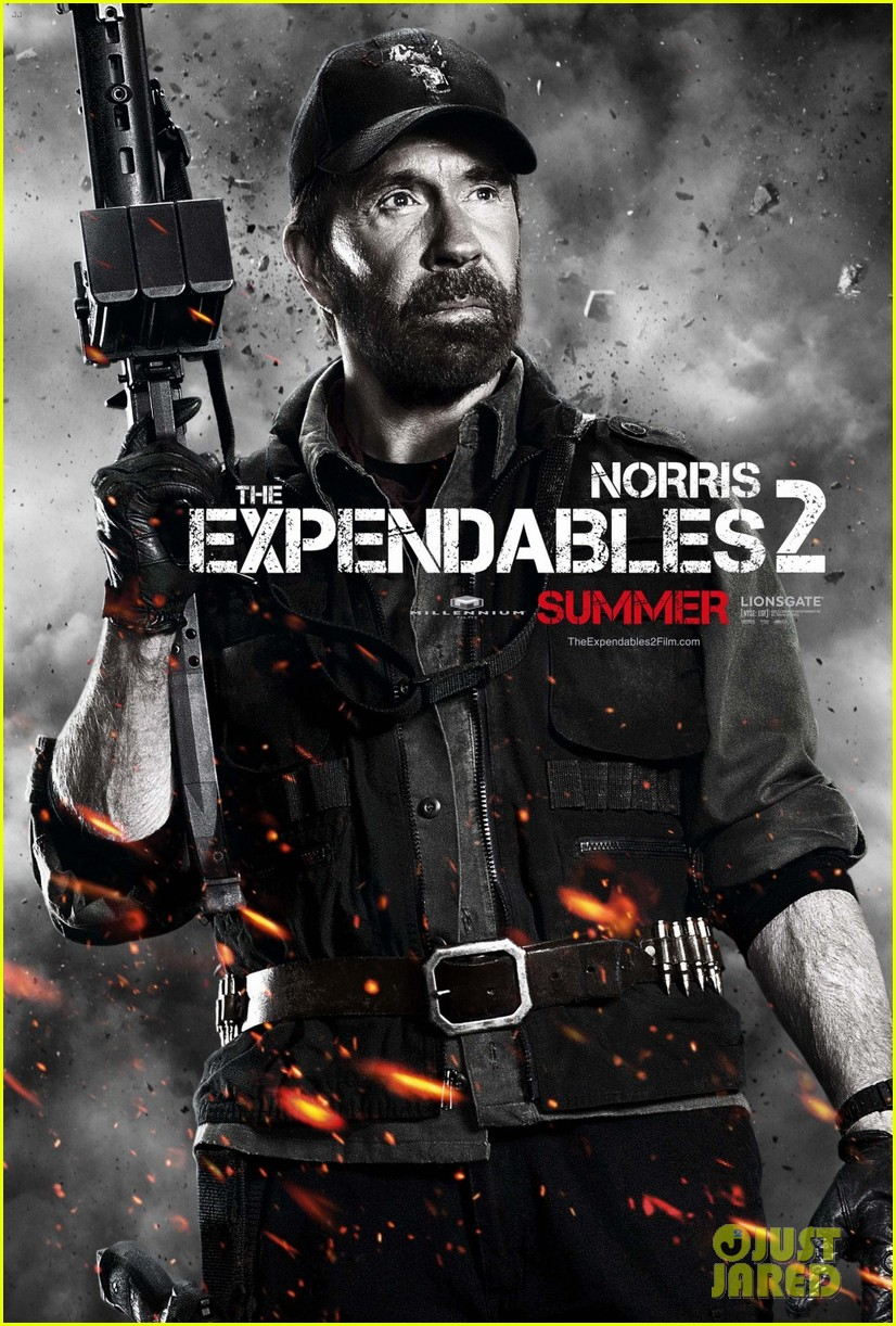 liam hemsworth: 'expendables 2' character posters!: photo 2653957