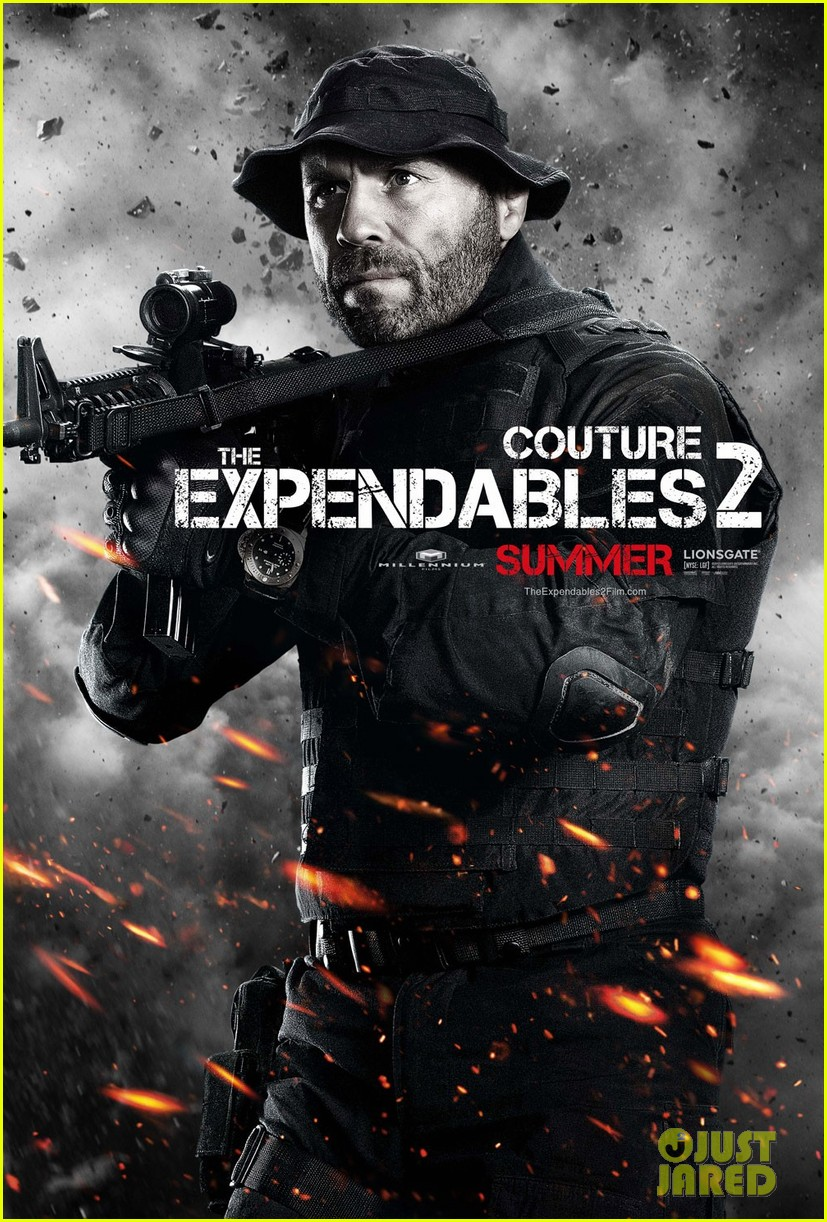 liam hemsworth: 'expendables 2' character posters!: photo 2653960