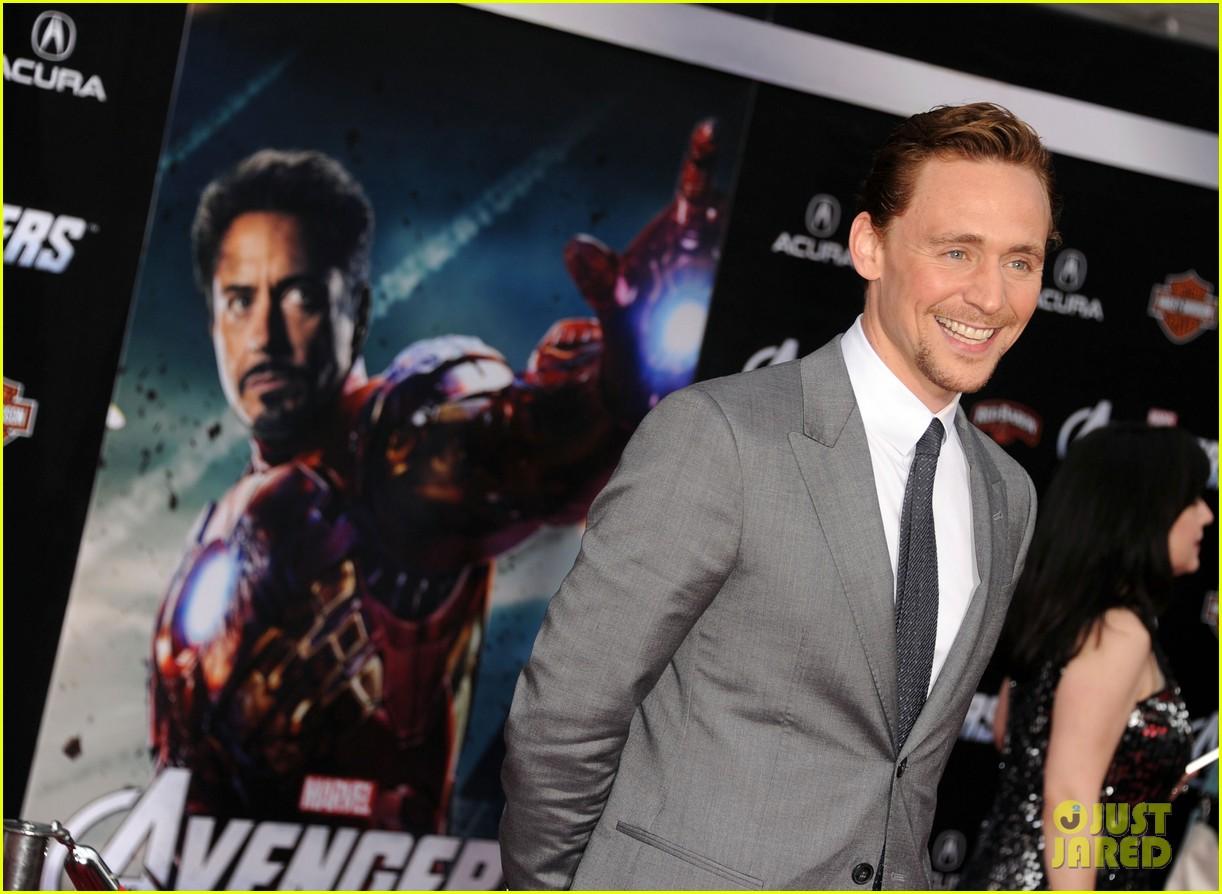 tom hiddleston cobie smulders avengers premiere 132647900