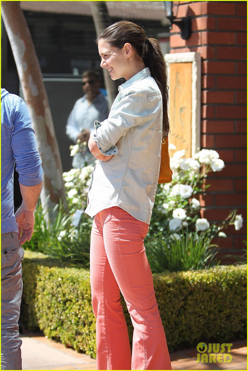 katie holmes toscana lunch 08