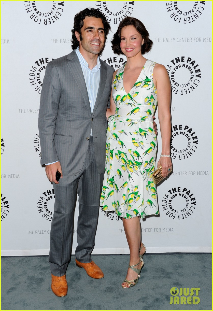 ashley judd paley center with dario franchitti 03