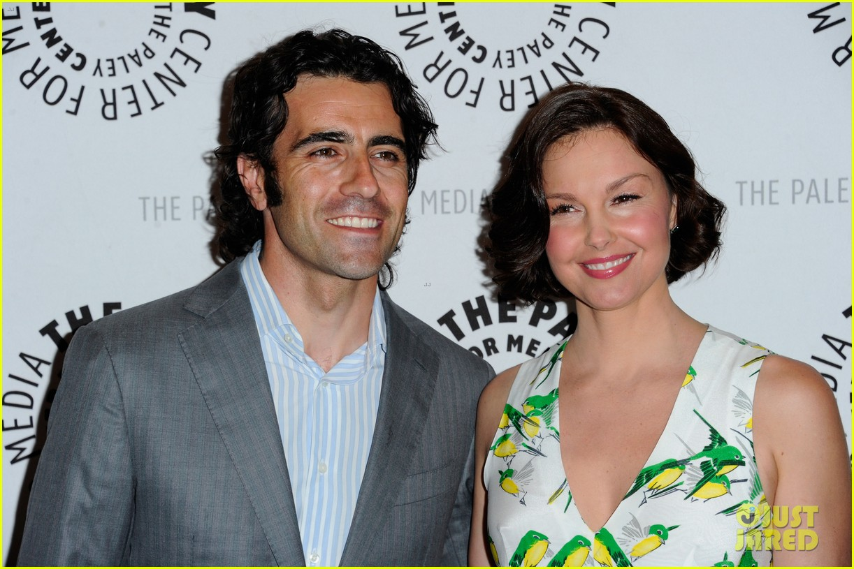 ashley judd paley center with dario franchitti 212647527