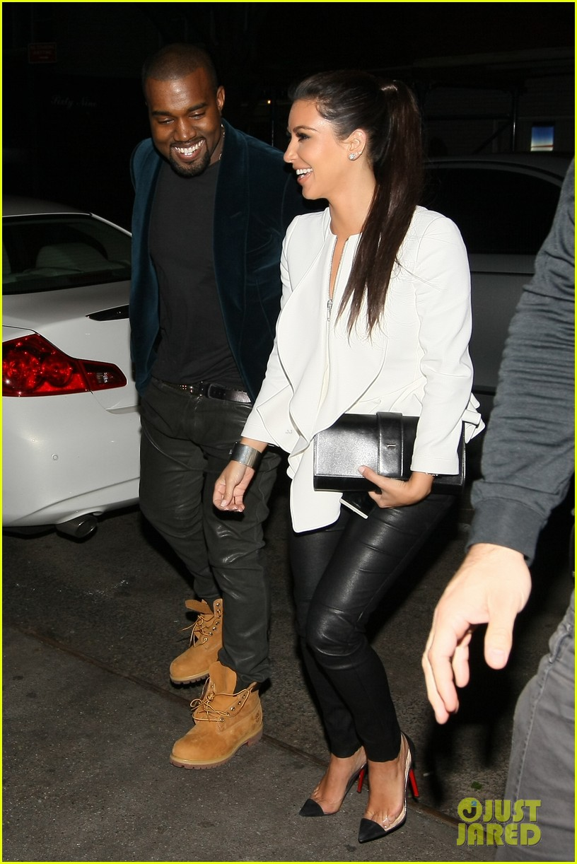 kim kardashian kanye west date night 032654545