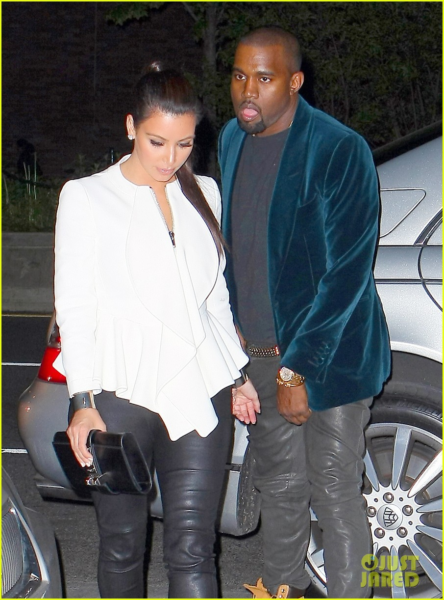 kim kardashian kanye west date night 04