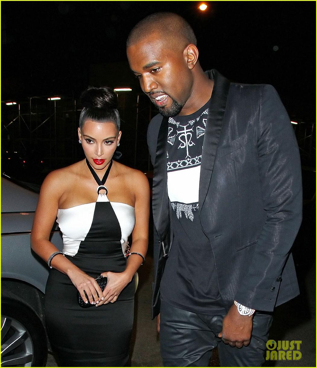 Kim and kanye dating