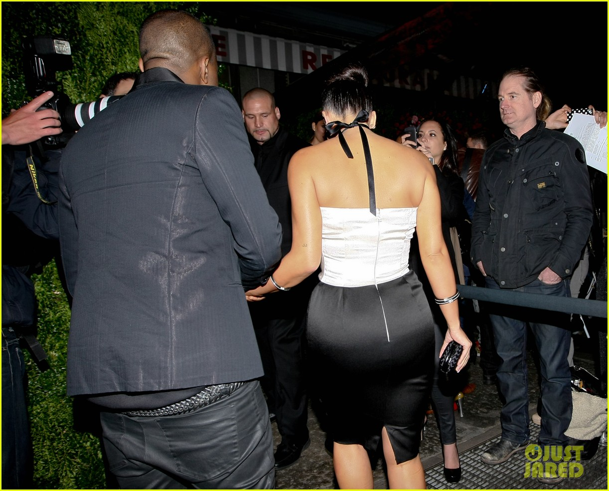 kim kardashian kanye west dinner and a movie 05