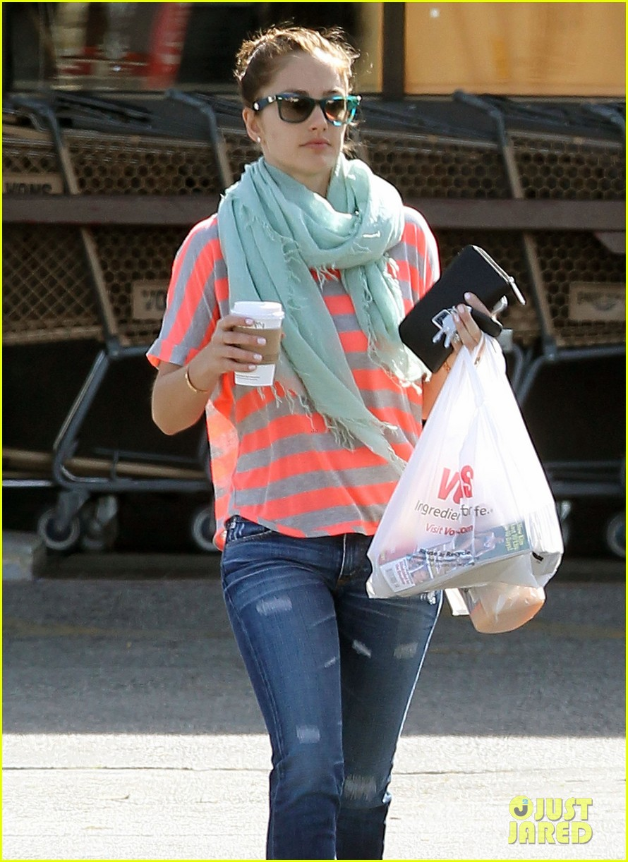 minka kelly mint scarf 02