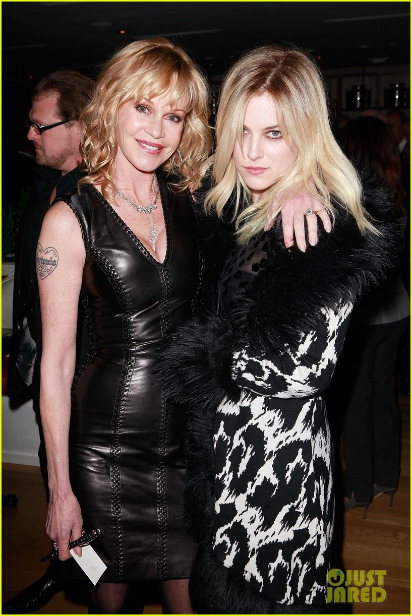 riley keough ny rescue workers event with melanie griffith 012648898
