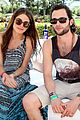 zoe kravitz penn badgley coachella couple 10