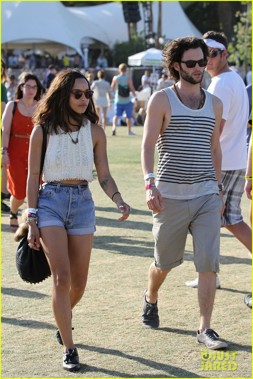 zoe kravitz penn badgley coachella final day 06