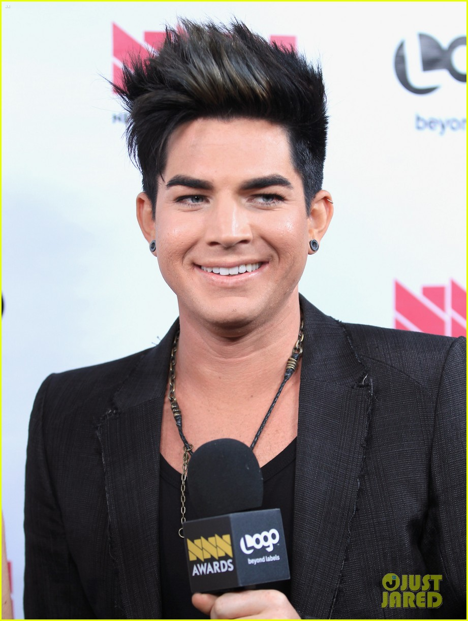 adam lambert logo newnownext awards 052645824