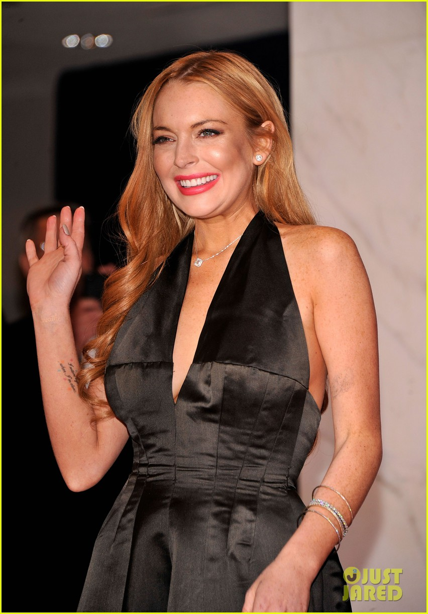 lindsay lohan white house correspondents dinner 022654800