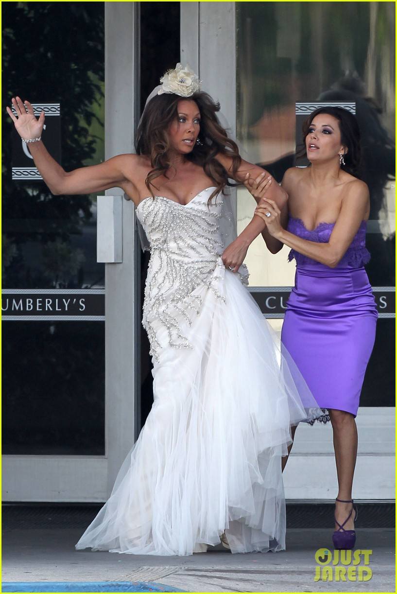 eva longoria wedding nbc press day 21