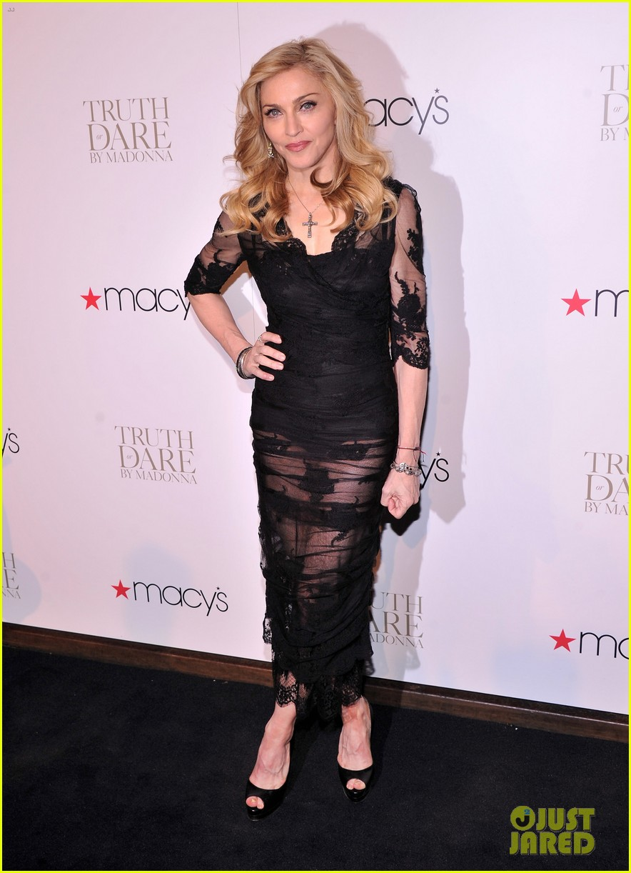 madonna truth or dare fragrance launch 032648355