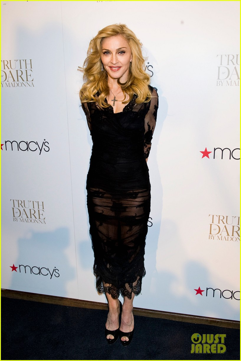 madonna truth or dare fragrance launch 05