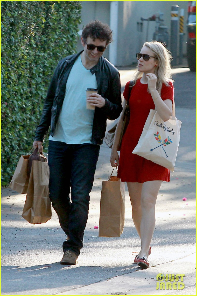 rachel mcadams michael sheen shopping 09