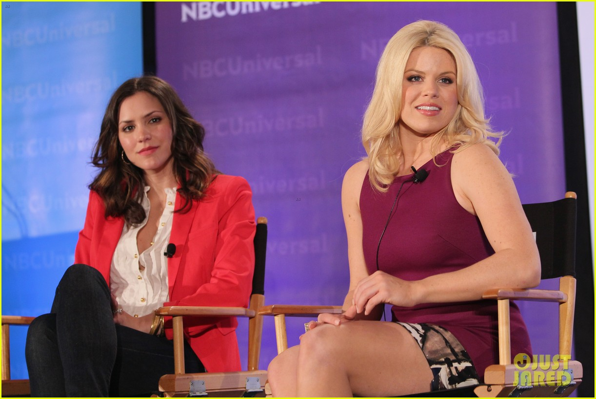 katharine mcphee megan hilty smash nbc press day 152651043