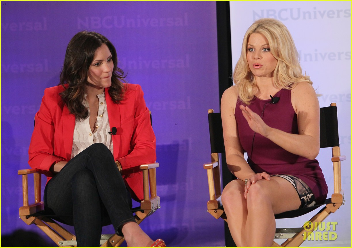 katharine mcphee megan hilty smash nbc press day 162651044