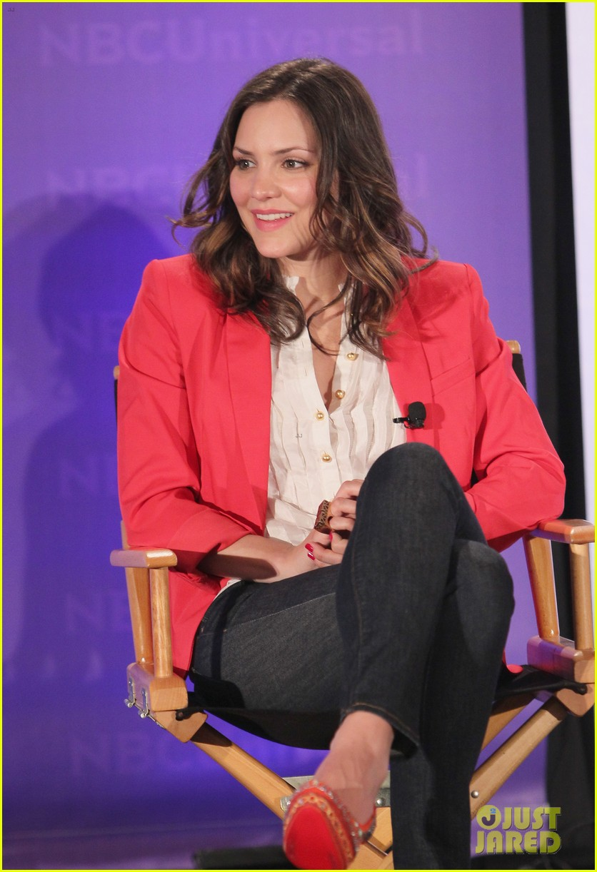 katharine mcphee megan hilty smash nbc press day 23