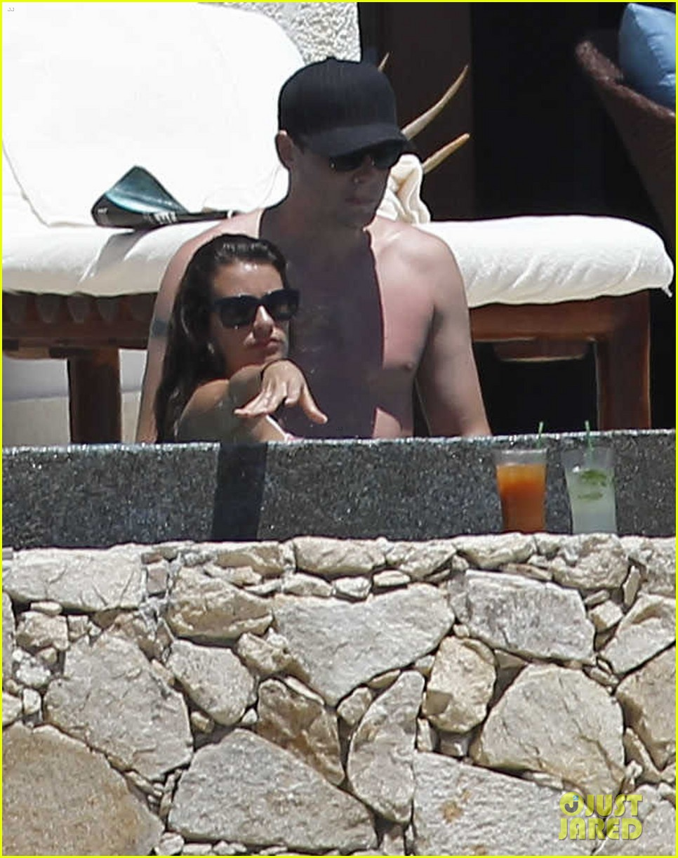 lea michele cory monteith cabo 04