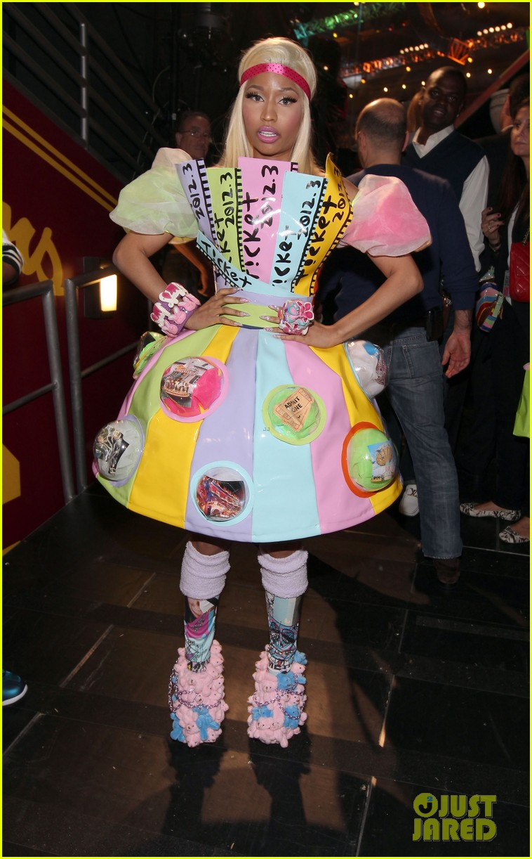 nicki minaj kids choice awards 2012 03