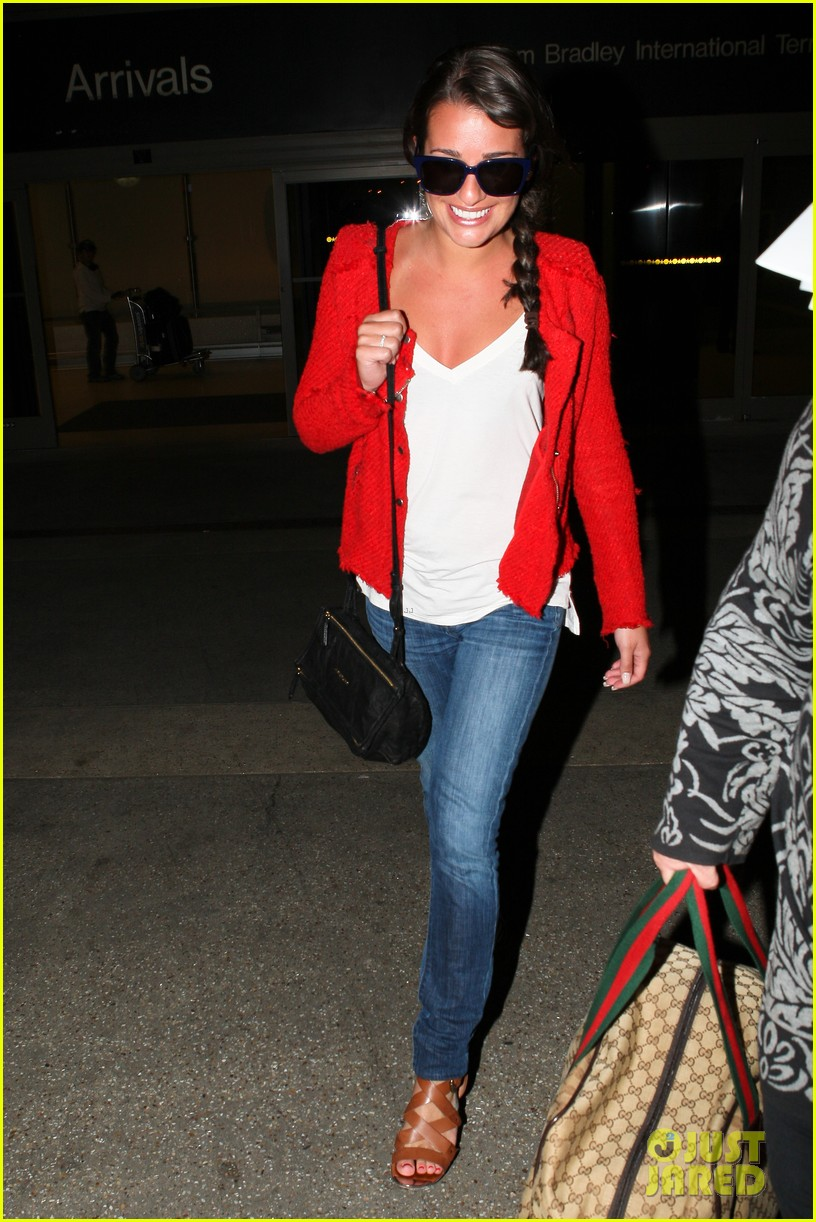 lea michele cory monteith lax 012646938