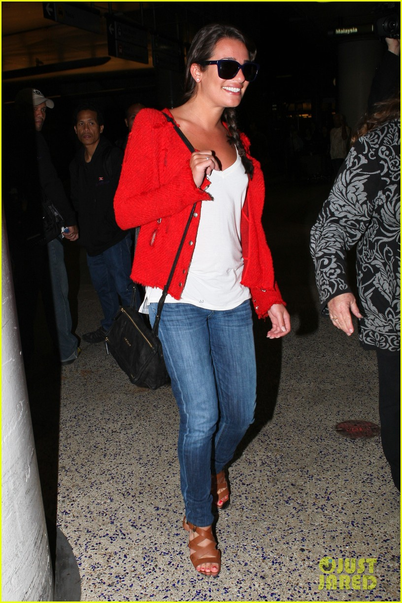 lea michele cory monteith lax 052646942