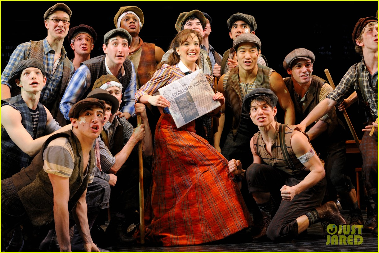 newsies on broadway 032650384