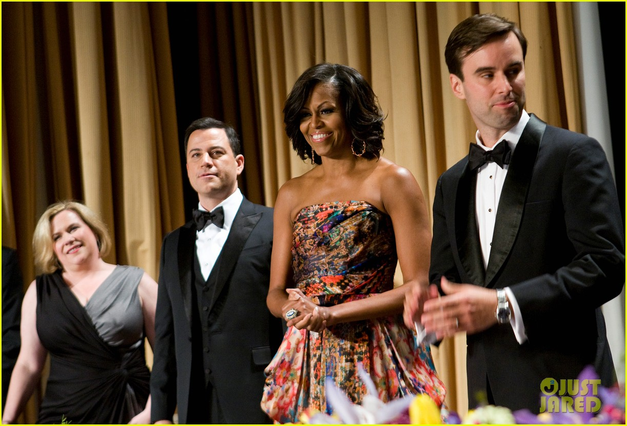 barack michelle obama white house correspondents dinner 01