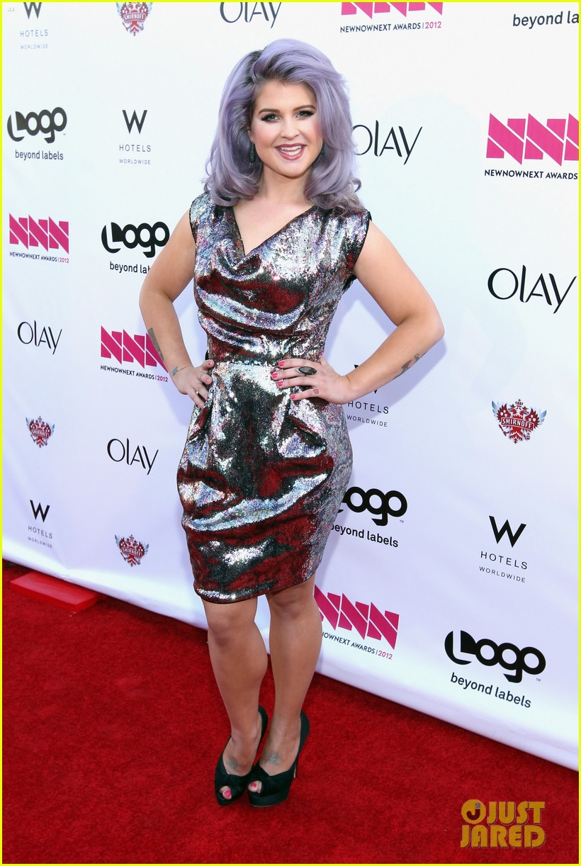kelly osbourne logo newnownext awards 142645930
