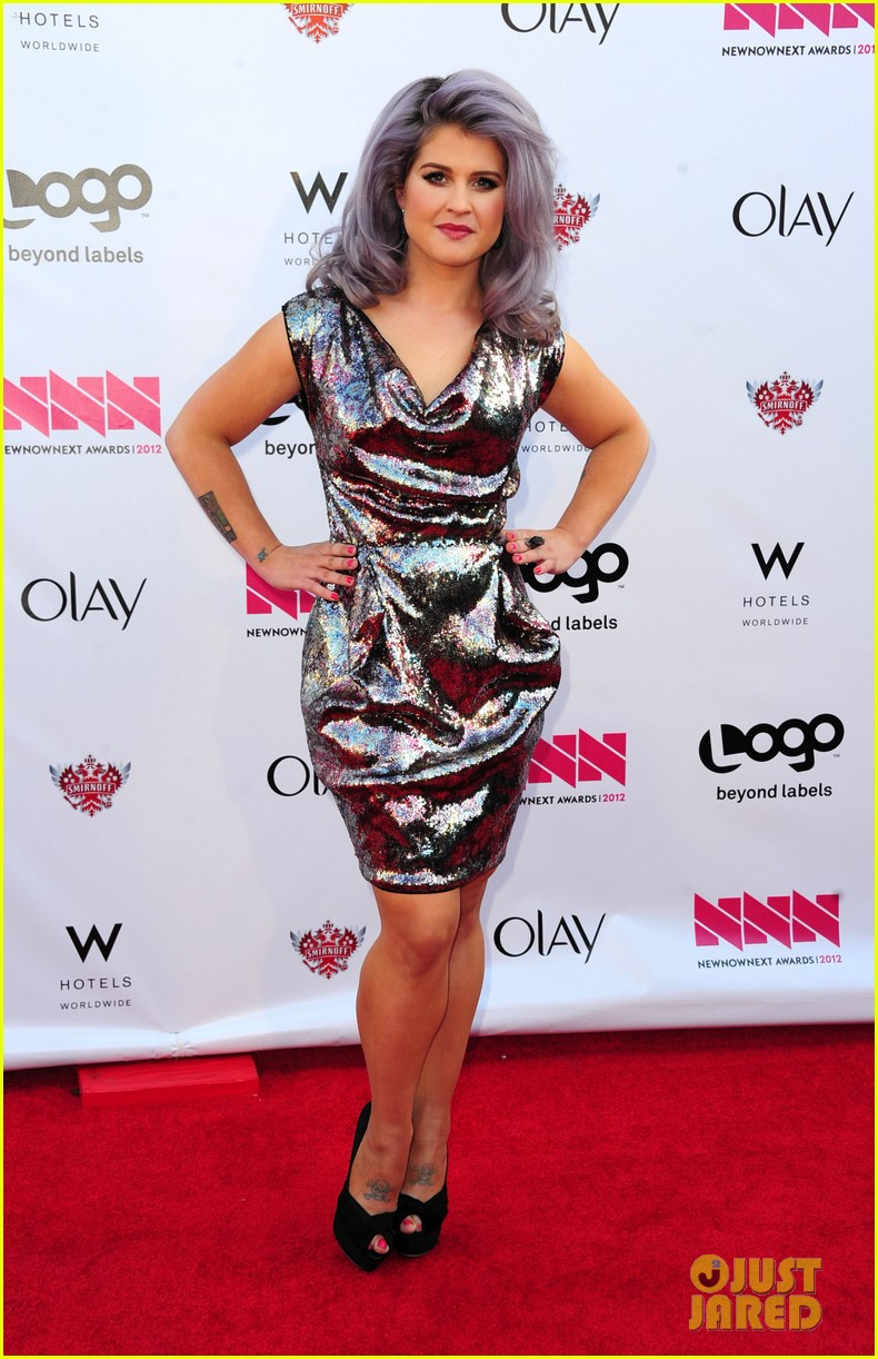 kelly osbourne logo newnownext awards 27