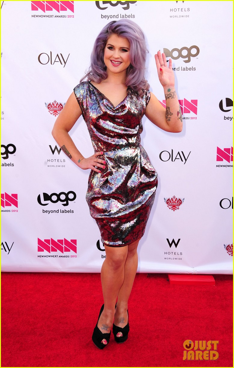 kelly osbourne logo newnownext awards 302645946