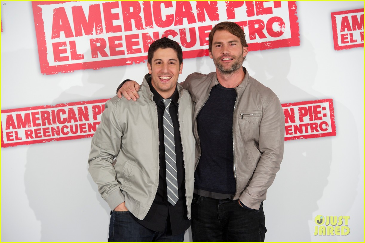 jason biggs seann william scott american reunion madrid 022651127