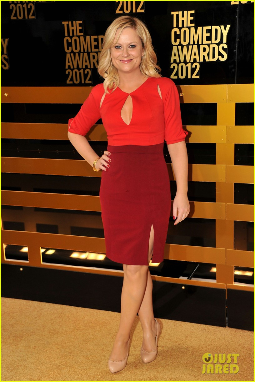 amy poehler best actress at comedy awards 2012 01