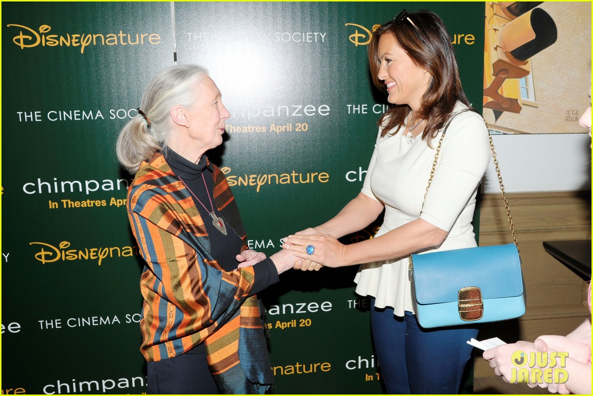 natalie portman jane goodall dave matthews chimpanzee screening 042649760